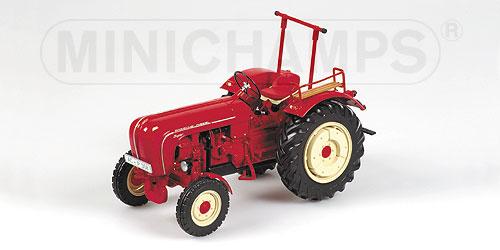 porsche super traktor 1958 die cast gotowy model. Black Bedroom Furniture Sets. Home Design Ideas