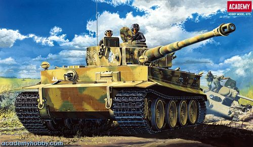 GERMAN TIGER-I EARLY VERSION - Image 1