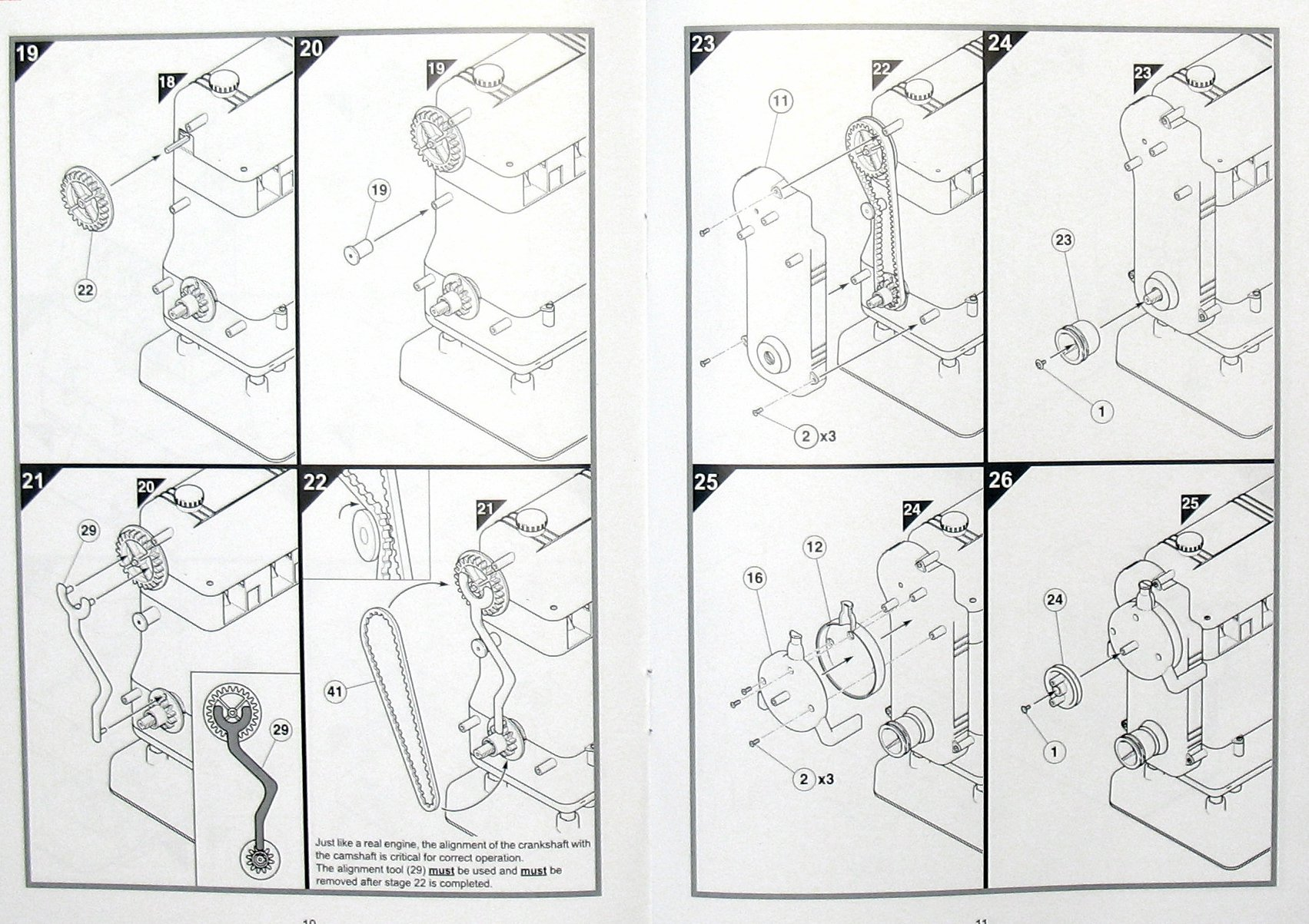 build your own internal combustion engine instructions