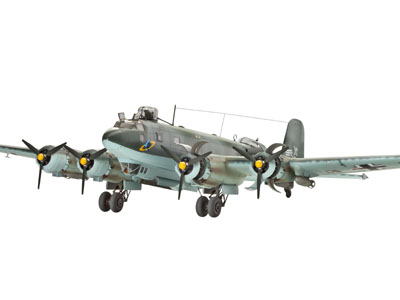 focke wulf fw 200 c 4 condor bomber model do sklejania revell 04678. Black Bedroom Furniture Sets. Home Design Ideas