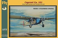 Caproni Ca.101 with 7 cylinder engine