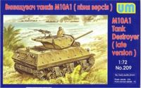 M10A1 Tank Destroyer late version