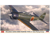 Mitsubishi A6M2b Zero Fighter Type 21 341st Flying Group