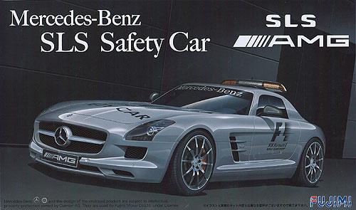 Mercedes benz sls f1 safety car model do sklejania fujimi for Mercedes benz f1 car