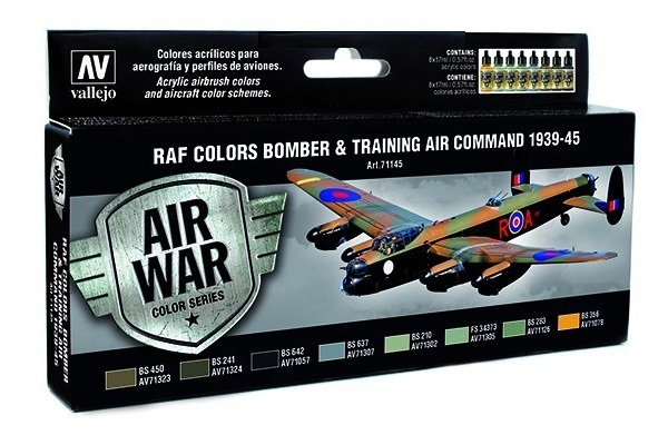 71145 Air War Color Series Raf Colors Bomber Training Raf Coloring Page 39