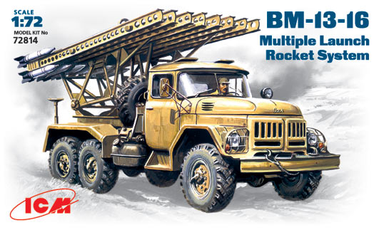 BM-13-16  Mutiple Launch Rocket System - Image 1