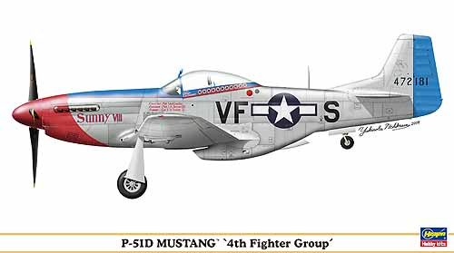 P-51D MUSTANG 4TH FIGHTER GROUP - Image 1