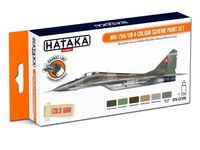 MIG-29A/UB 4 - colour scheme paint set