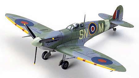 Tamiya 60756 Supermarine Spitfire (Mk.Vb/Mk.Vb TROP)