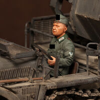 Driver for Sd.Kfz.10/4 - Image 1