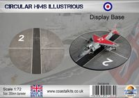 Circular 1:72 HMS Illustrious 200mm - Image 1