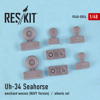 Uh-34 Seahorse / westland wessex (NAVY Version) wheels set - Image 1
