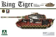 SdKfz. 182 King Tiger Henschel Turret with Zimmerit with New Track Parts