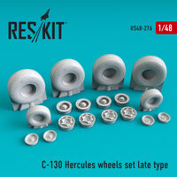 C-130 Hercules wheels set late type - Image 1