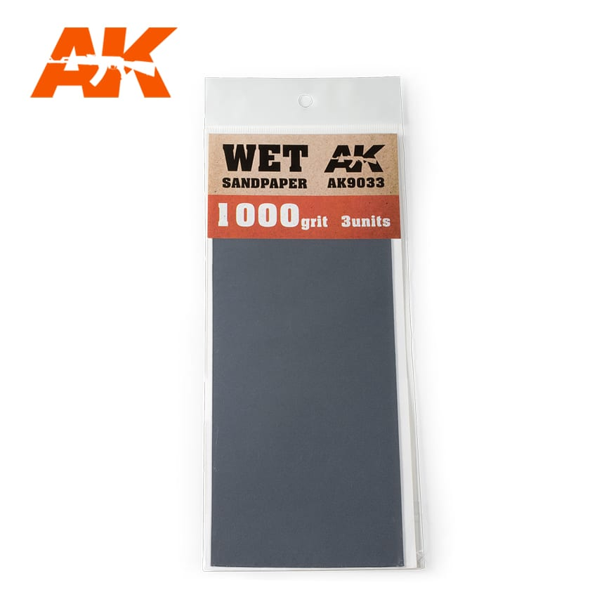 Wet Sandpaper 1000 (3 units) - Image 1
