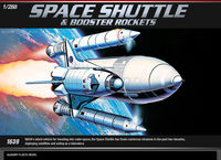 SPACE SHUTTLE W/BOOSTER ROCKETS