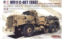 US M911 C-HET (8x6) & M747 Heavy Equipment Semi-Trailer