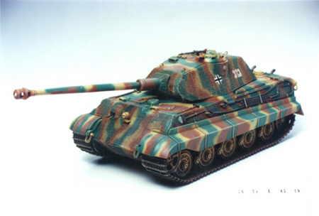 Sd Kfz 182 King Tiger Porsche Turret Model Do Sklejania