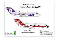 Yakovlev Yak-40 PLL LOT, Institute of Aviation - Image 1