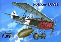 Fokker D.VII German WWI fighter