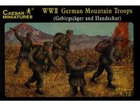 German IIWW Mountain Unit Gebirgsjager and Handschar