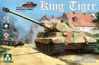Sd.Kfz.182 King Tiger Porsche Turret Full Interior with new track parts