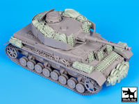 Pz Kpfw IV Ausf J accessories set for Dragon - Image 1