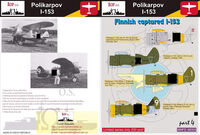 Polikarpov I-153 - Finnish captured I-153