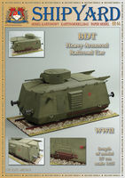 BDT Heavy Armored Railroad Car   skala 1:25