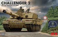 Challenger 2 British Main Battle Tank with workable track links