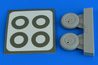 Spitfire Mk.I wheels (with covers) & paint masks TAMIYA
