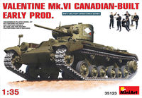 Valentine Mk. VI early production (Canadian Build)