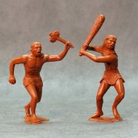 Cavemen, set of two figures #1