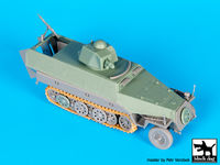 Sd.Kfz.251 ausf D with Hotchkiss turret conv.set for Dragon