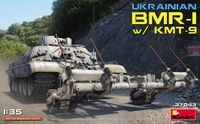 Ukrainian BMR-1 with KMT-9