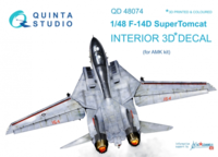 F-14D 3D-Printed & coloured Interior on decal paper - Image 1