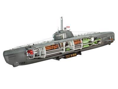 Deutsches U-Boot Typ XXI mit Interieur - Image 1