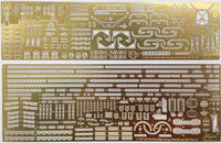 Photo-Etched Parts for IJN Battle Ship Hyuga (1941) (w/Ship Name Plate)