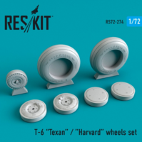 Texan T-6 wheels set - Image 1