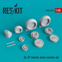 Su-27 wheels early version set - Image 1