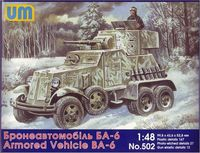 Soviet Armored Vehicle BA-6
