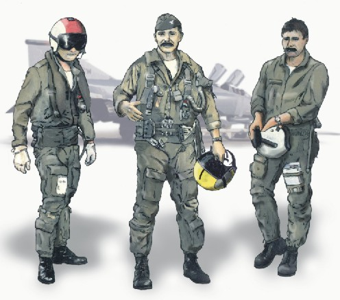 US pilots Vietnam war 3 fig. - Image 1
