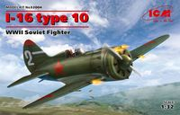 I-16 type 10, WWII Soviet Fighter