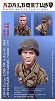 Kapitan z E/506th PIR, Holandia 44 (506th PIR Captain, Holland 1944, bust)