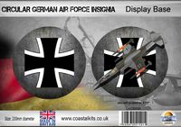 Circular German Air Force 200mm - Image 1