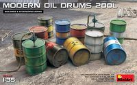 Modern Oil Drums 200L - Image 1