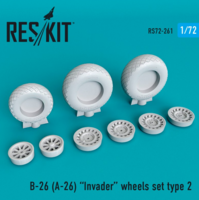 B-26 (A-26)  Invader wheels set type 2