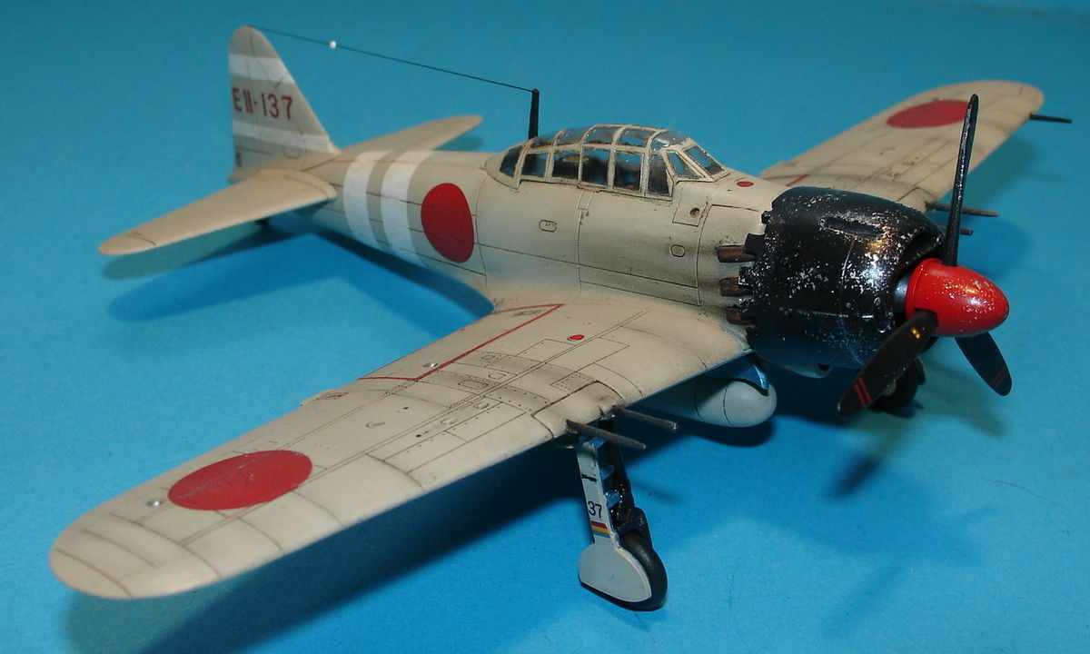 A6M5 Zero Fighter 1/72 Hobby Boss 80241 - 004 - Image 1