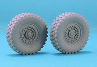 Weighted 4*4 MRAP Wheel set (For Kinetic 61011)