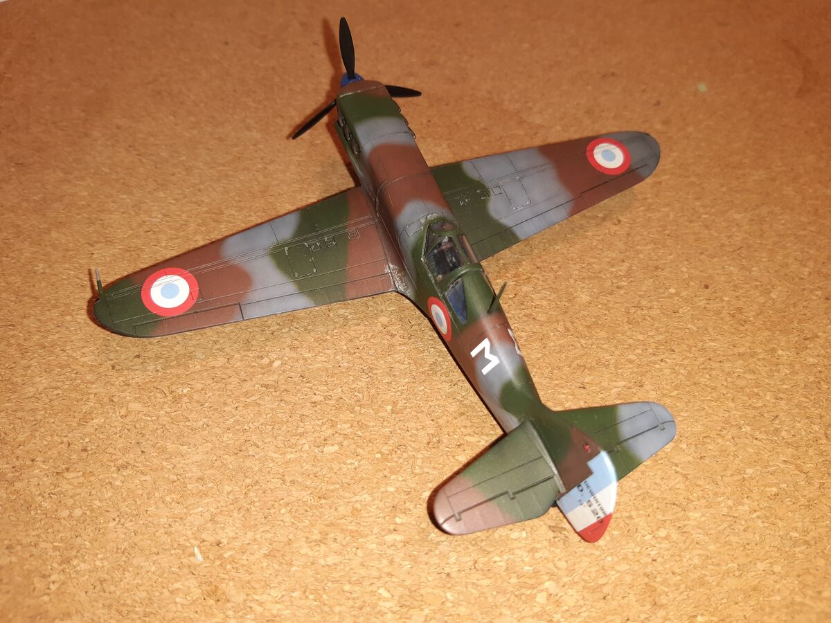 Dewoitine D.520 1/72 Hobby 2000 - 003 - Image 1